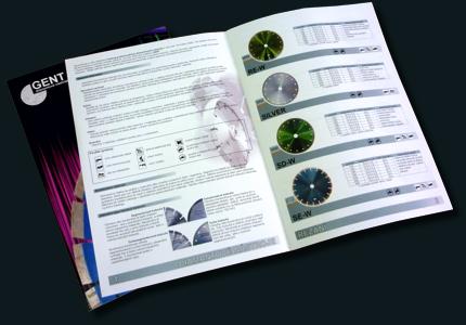 diamantové kotouče GENT - katalog