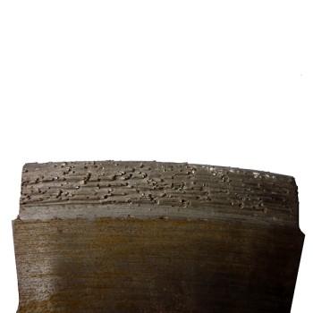nadměrný obrus segmentu diamantového kotouče