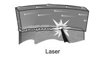 diamantové segmenty přivařené laserem