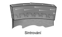 sintrované diamantové segmenty