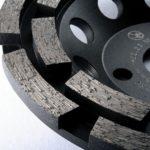 diamantový brusný kotouč na asfalt - detail