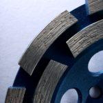 brusný diamantový kotouč na beton - detail