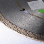 diamantový kotouč na obklady, detail segmentu