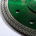 diamantový kotouč na slinutou dlažbu - segment