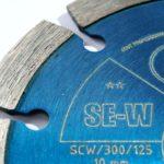 detail označení diakotouče 125 mm