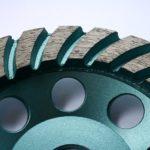 diamantový brusný kotouč na žulu - detail