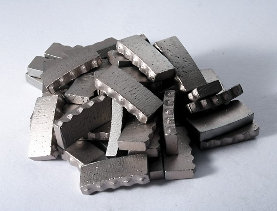 renovace diamantových korunek - segmenty