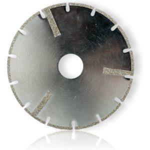 diamantový kotouč s galvanickým pojivem
