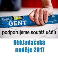 výsledky soutěže pro obkladače 2017 - článek GENT