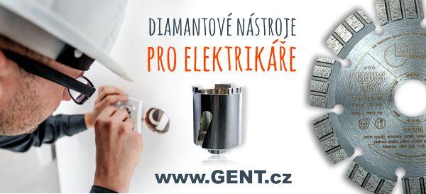 diamantové nástroje pro elektrikáře, kotouče a vrtáky