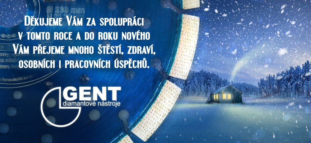 diamant gent - vánoční přání
